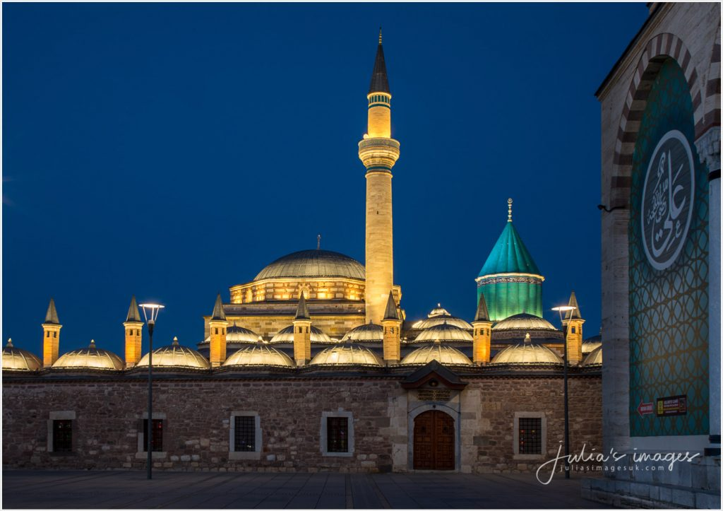 Mevlana Museum at Dusk
